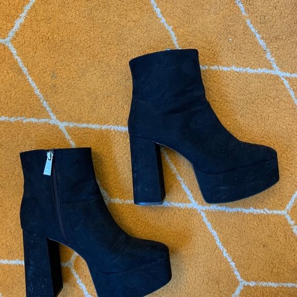 Zara Platform Boots